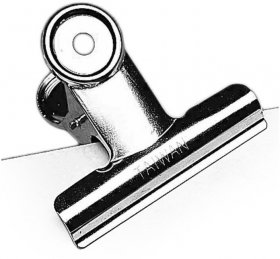 Klip biurowy Leniar, 60mm, 1 sztuka, srebrny