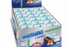 Cukierki Michałki z Hanki, czekoladowy, 2kg