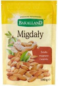 Migdały Bakalland, 100g