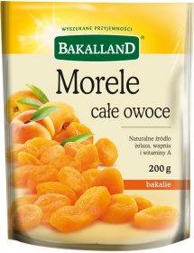 Morele całe owoce Bakalland, 200g