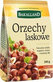 Orzechy laskowe Bakalland, 300g