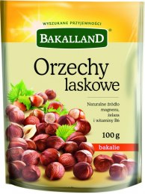 Orzechy laskowe Bakalland, 100g