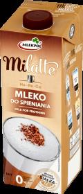 Mleko do spieniania Milatte Mlekpol, 0%, 1l