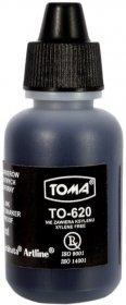 Tusz permanentny Toma TO-620 do markerów, 15 ml, czarny