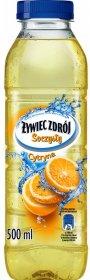 Woda smakowa niegazowana Żywiec Zdrój Soczysty, cytrynowy, 0.5l