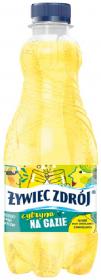 Woda smakowa gazowana Żywiec Zdrój, z sokiem z cytryn, 0.5l