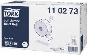 Papier toaletowy Tork Jumbo, 2-warstwowy, miękki, 6 rolek, biały