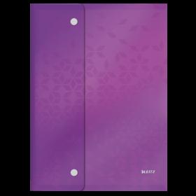 Teczka kopertowa Leitz Wow, A4, na zatrzask, mix kolorów