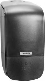 Dozownik do mydła w płynie i w pianie Katrin Inclusive, 20.4x10x12.5cm, 500ml, czarny