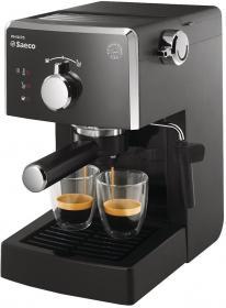 Ekspres ciśnieniowy Saeco HD8423/19, bez młynka do kawy, czarny