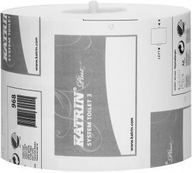 Papier toaletowy do dozownika systemowego Katrin, 3-warstwowy, 10cmx60m, biały