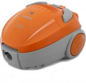 Odkurzacz Zelmer, Dot ZVC125EK, szaro-pomarańczowy