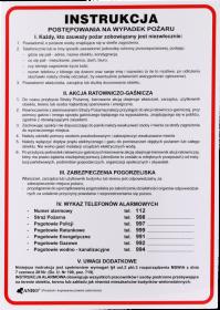 Tabliczka informacyjna Mag-Dar,