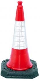 Pachołek ostrzegawczy Mag-Dar ROAD-PADO75, 75cm, biało-czerwony