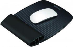 Podkładka pod mysz i nadgarstek i-Spire™, 25x200x255 mm, czarny