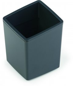 Pojemnik na odpady Durable Coffee point bin, 7.9x7.9x10 cm, szary