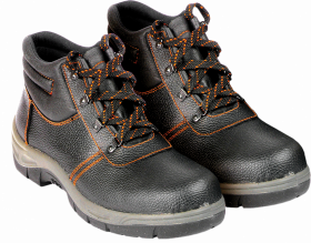 Buty robocze Reis BRO, skóra bydlęca, rozmiar 45, czarny