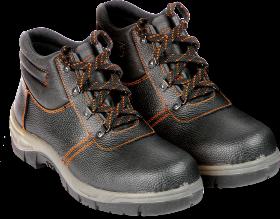 Buty robocze Reis BRO, skóra bydlęca, rozmiar 46, czarny