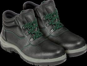 Buty robocze Reis BRR, skóra bydlęca, rozmiar 49, czarny