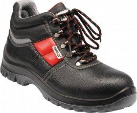 Buty robocze Yato Parma, skóra bydlęca, rozmiar 43, czarny