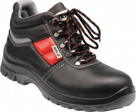 Buty robocze Yato Parma, skóra bydlęca, rozmiar 47, czarny