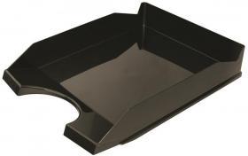 Półka na dokumenty na biurko Office Products, A4, plastikowa, czarny