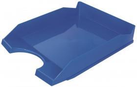 Półka na dokumenty na biurko Office Products, A4, plastikowa, niebieski