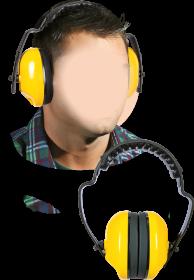 Ochronniki słuchu Reis OSY, 29dB, żółty