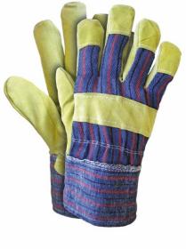 Rękawice wzmacniane Reis RSC, rozmiar 10, żółty