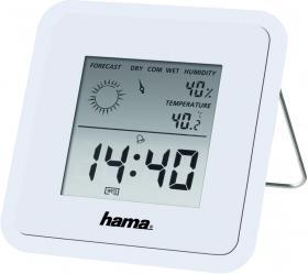 Termometr/Higrometr Hama, TH50, biały