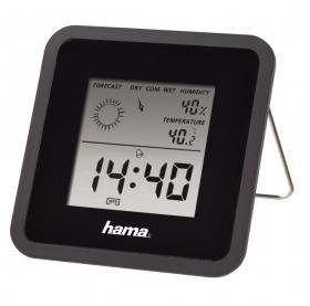 Termometr/Higrometr Hama, TH50, czarny