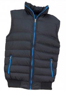 Bezrękawnik Urgent, rozmiar XL, czarno-niebieski