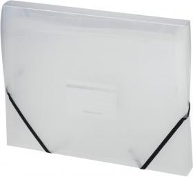 Teczka segregująca Office Depot, A4, 6 przekładek, biały