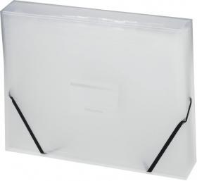 Teczka segregująca Office Depot, A4, 13 przekładek, biały