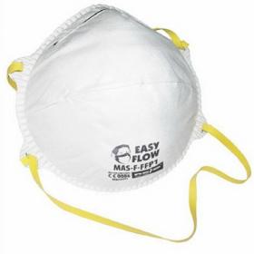 Maska przeciwpyłowa Reis MAS-F-FFP1, bez zaworka, 20 sztuk, biały