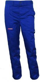 Spodnie ochronne do pasa Reis Master, gramatura 262g, rozmiar 58, niebieski