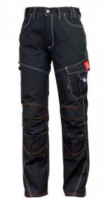 Spodnie do pasa Urgent, gramatura 315g, rozmiar 46, czarny