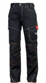 Spodnie do pasa Urgent Mag-Dar, rozmiar 46, czarny