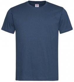 T-shirt Stedman, gramatura 155g, rozmiar M, granatowy