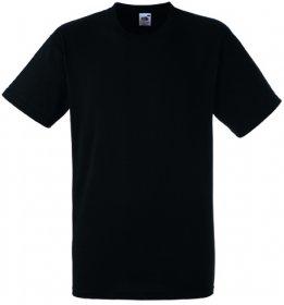 T-shirt Fruit of the Loom, gramatura 190g, rozmiar M, czarny
