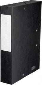 Teczka kartonowa z narożną gumką Office Depot, A4, 60mm, czarny
