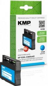Tusz KMP H105, 933XL (CN054AE), 1000 stron, 14 ml, cyan (błękitny)