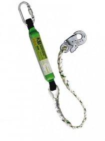 Amortyzator bezpieczeństwa Reis, OUP-KRM-EARL-D, 1.5m, zielony