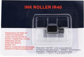 Wałeczek barwiący KMP do kalkulatora wymienny z IR40, 1 sztuka, czarny
