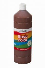 Farba plakatowa Creall Basic Color, 1000ml, brązowy ciemny