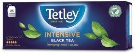Herbata czarna w torebkach Tetley Intensive Black, 25 sztuk x 2g