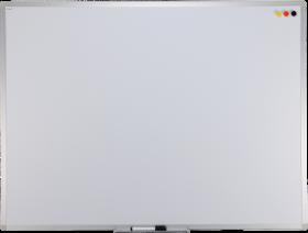 Tablica suchościeralno-magnetyczna Ofix Standard, w ramie aluminiowej, lakierowana, 120x240cm, biały