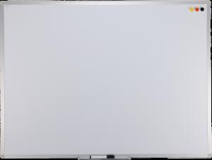 Tablica suchościeralno-magnetyczna Ofix Standard, w ramie aluminiowej, lakierowana, 90x120cm, biały