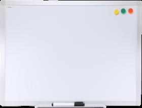 Tablica suchościeralno-magnetyczna Ofix Standard, w ramie aluminiowej, lakierowana, 45x60cm, biały