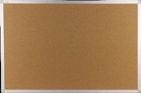 Tablica korkowa Ofix Standard w ramie aluminiowej, 90x60cm, brązowy